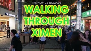 Walking Through Ximen | TAIWAN VLOG