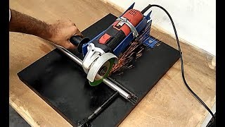 How To Make Angle Grinder Stand || Angle Grinder hack.