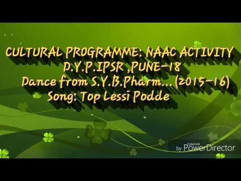 Top lessi podde song dance by Dr D Y Patil students