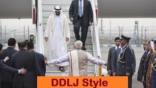 Asaduddin Owaisi Mocks PM Modi For Hugging UAE Crown Prince - Shahrukh Khan Style