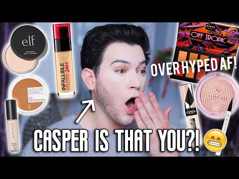 Xxx Mp4 TESTING NEW OVER HYPED DRUGSTORE MAKEUP ELF Loreal Foundation Maybelline ETC 3gp Sex