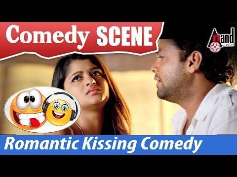 Vaastu Prakaara | Rakshit Shetty & Aishani Shetty - Romantic Kissing Comedy  Scenes