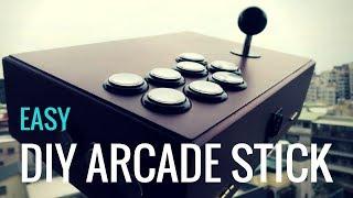 DIY Arcade Stick: Easy, High Quality & Affordable