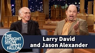 Larry David and Jason Alexander Don't Like Backstage Chitchat