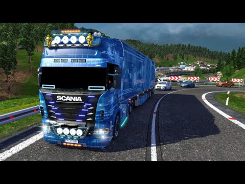 Euro Truck Simulator 2 Scania R620 Combo Pack Blue