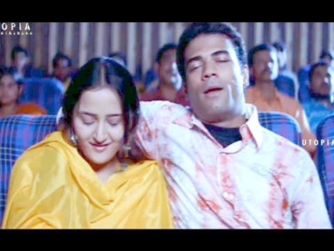 Aziz Naser Romance In Theatre - Hyderabad Nawabs Movie Scenes