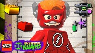 LEGO DC Super Villains #77 STARS OLHANDO O QUÊ 100% MINIKITS GRAFITE PERSONAGEM E BLOCO VERMELHO