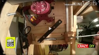 My Big HomeMade Table Saw: Assembly