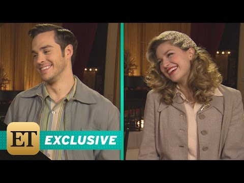 EXCLUSIVE Supergirl Melissa Benoist & Chris Wood Can t Stop Blushing Over Karamel s Relationsh…
