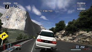 Gran Turismo 4 - Mitsubishi Galant 2.0 DOHC Turbo VR-4 '89 (HYBRiD) PS2 Gameplay HD