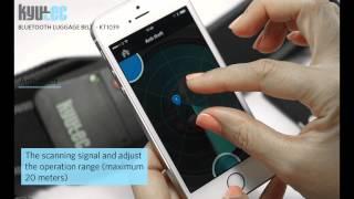 Kyutec Bluetooth Luggage Tracker KT1039