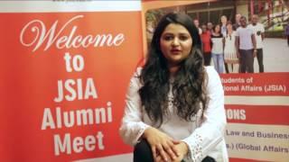 Alumni Speak- Jindal School of International Affairs