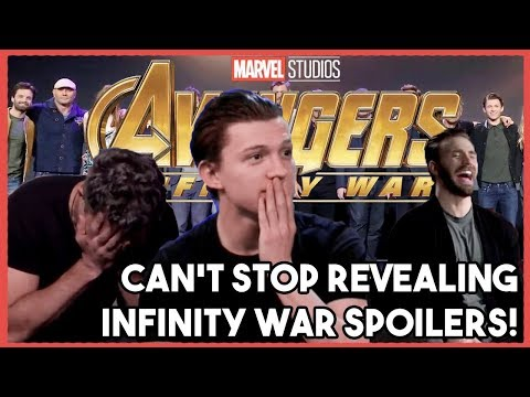Xxx Mp4 AVENGERS Cast Can T Stop Their SPOILERS INFINITY WAR 2018 3gp Sex
