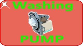 Washing machine pump test generator