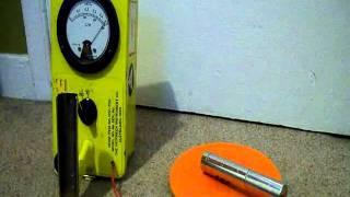 CDV-700 Geiger Counter Testing Fiestaware