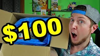I BOUGHT A $100 POKEMON CENTER STORE MYSTERY BOX FROM JAPAN - SO BIG