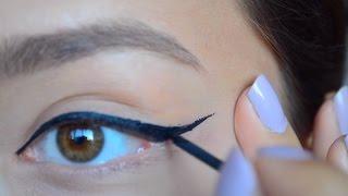 Kuyruklu Eyeliner Nasıl Çekilir/Sürülür ?