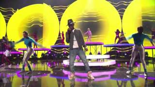Pharrell Williams Perform at iHeart Radio Music Awards 2014