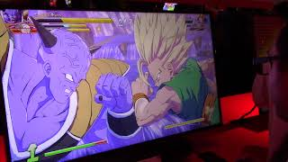 Dragon Ball FighterZ Gameplay on Nintendo Switch (E3 2018)