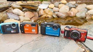 Waterproof Compact Camera Roundup 2018 (Olympus TG-5, Nikon W300, Fujifilm XP130, Panasonic TS7/FT7)