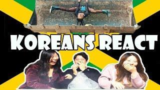 Koreans React to Jamaican Music Videos   Dancehall Edition  