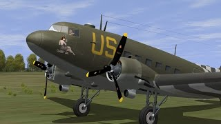 IL2 1946 C-47 UPGRADE FOR 412.2 MOD ACTIVATED