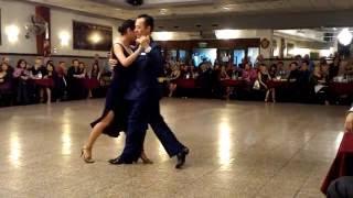 Daniel y Anna en La Baldosa - bailan