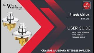 ARK - Flush Valve - User Guide