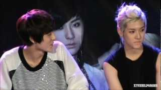 120810 NU'EST 2MIN - MINKI Please Smile  :)