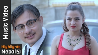 Because I Love You - New Nepali Romantic Song 2017/2073 | Santosh Khadgi