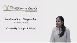 CA Final - Winding Up & Amalgamations as per Companies Act 2013 - by CA Arpita Tulsyan