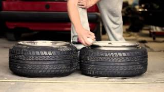 How to stretch a tire... and how you don