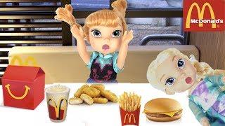 FROZEN Elsa McDonald's Prank Johny Johny Yes Papa Nursery Rhymes for Kids & Songs |Funny video