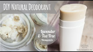 DIY Natural Deodorant l Essential Oils l Young Living