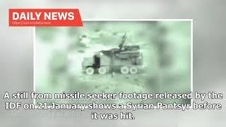 Daily News - Israel hits Iranian and Syrian targets