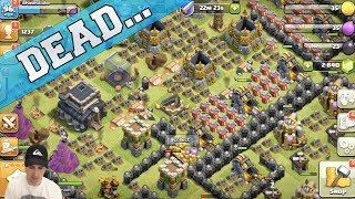 Clash of Clans - MY DEAD BASE - 1st Time Looking At Base in a YEAR - UPDATE GAMEPLAY