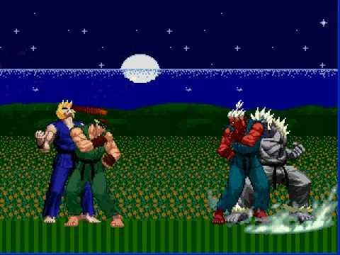 God Ryu & Raging Ken VS. Shin Gouki & God Silver