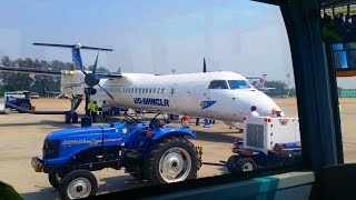 A Plane Journey from Dhaka to Cox's Bazar | US-Bangla Airlines | Domestic Flight