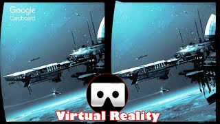 3D UNIVERSE SPACE VR | 3D Side by Side SBS VR Active Passive