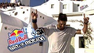 Dimitris Kysanidis [FINAL] -  Red Bull Art Of Motion Santorini Greece 2015