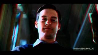 Spiderman 2 3d anaglyph trailer