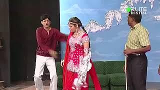 Iftikhar Thakur and Amanat Chan New Pakistani Stage Drama Ishq Schoolay Full Comedy Clip