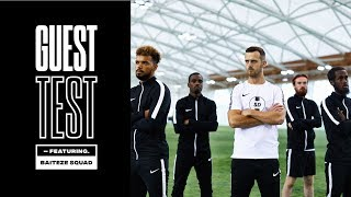 GUEST TEST CHALLENGE FT BAITEZE SQUAD - TESTING THE NEW NIKE CR7 MERCURIAL FOOTBALL BOOTS