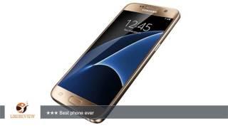 Samsung Galaxy S7 32 GB Unlocked Phone - G930FD Dual SIM - Platinum Gold (International Version -