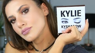 Kylie Jenner | KYSHADOW Paleti ile Makyaj