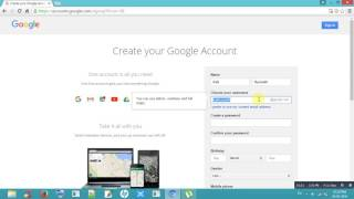 How To Sign Up Gmail Account 2016