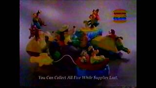1995 Burger King Kids Club Commercial (A Goofy Movie)