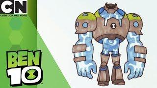 Ben 10 | How to Draw Shockrock | Cartoon Network