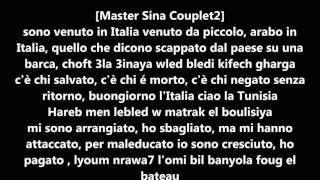 Master Sina Et Balti , Clandestino Lyrics/paroles