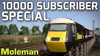 10000 Subscriber Special! Feat. MoleMainline Class 43 HST | TS2016